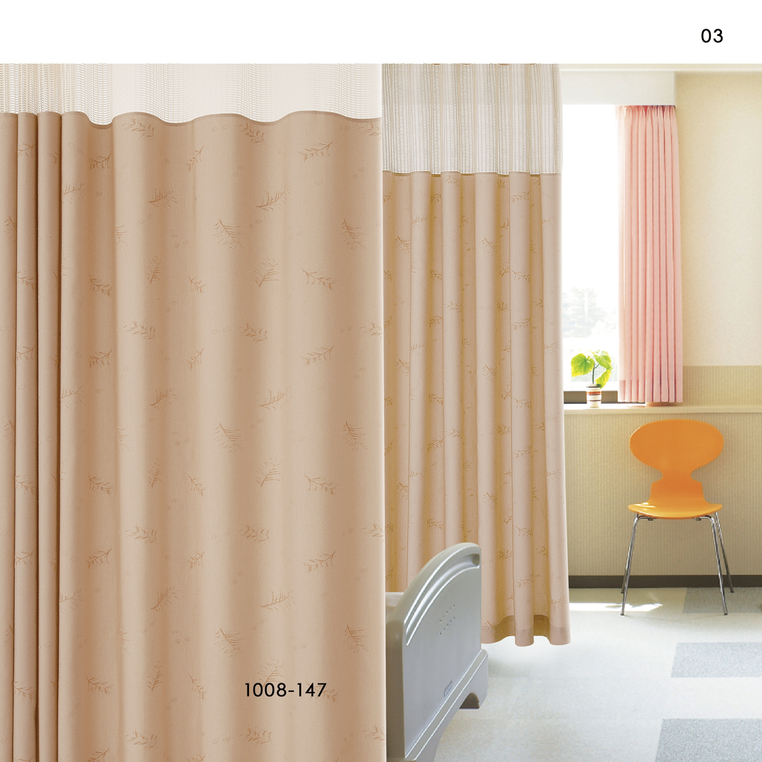 fabric curtain cubicle inherent retardant anti hospital pin flame curtains mesh bacterial for