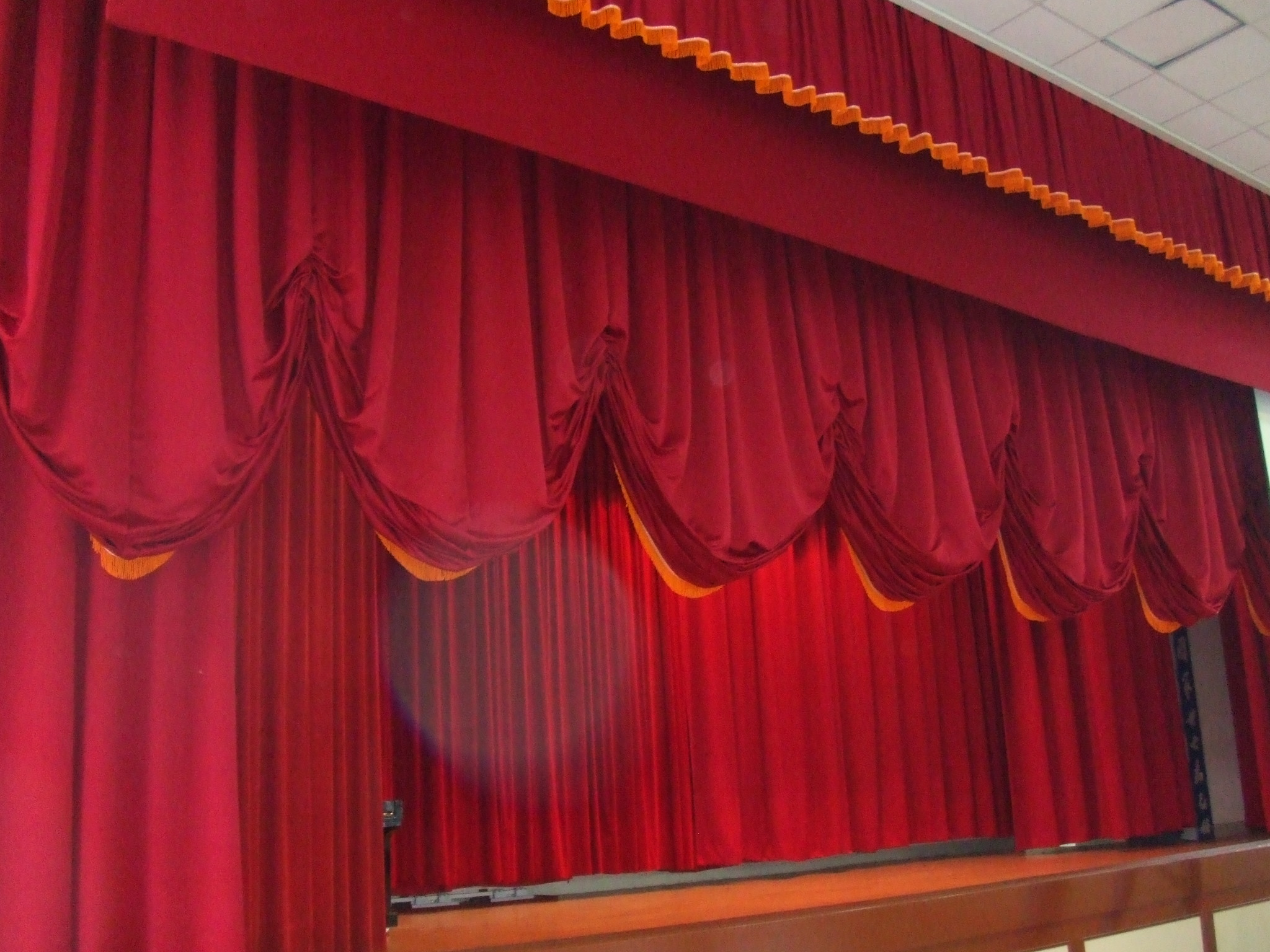 Stage Curtains Replacement Project